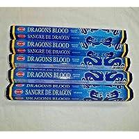 HEM Dragon 'S BLOOD blau 100Räucherstäbchen (5x 20Stick Packungen) preisvergleich bei billige-tabletten.eu