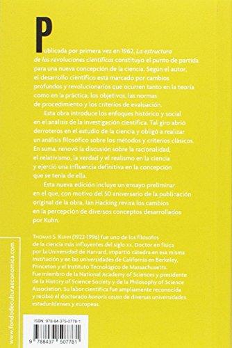 LA ESTRUCTURA DE LA REVOLUCIONES CIENTÍFICAS (Breviarios) leer libros online gratis en español para descargar