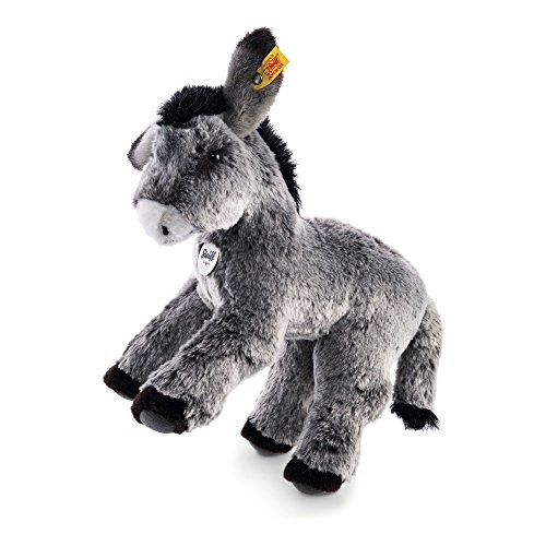 Steiff 072819 - Fritzi Esel 28 stehend, grau meliert