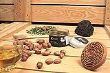 Fatima's Garden - Savon noir pure pour gommage corps (savon beldi), pour Hammam 100% Bio - 50gr
