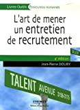 L'art de mener un entretien de recrutement