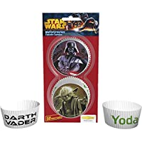 """falksson Muffin / Cupcake Wrappers """"Star Wars"""" Pack of 50"""