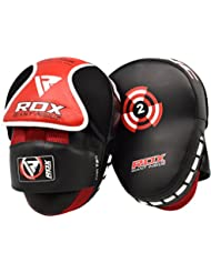 RDX Boxing Pads Hook & Jab Punch Pads MMA Thai Strike Kick Shield Training Punching Focus Mitts Target