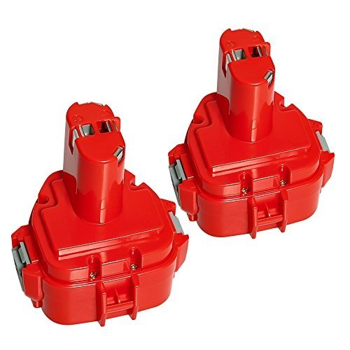 LiBatter 2 Stück Wekzeugakku 12V 3,0Ah(3000mAh) Hohe Kapazität Akku Kompatibel mit Makita 1220...