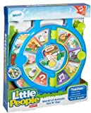 Fisher-Price DVP80 FIS-DVP80-9564 Little People World of Animals See N\' Say, Multicolor, n.a