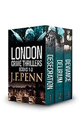 London Crime Thriller Boxset: Desecration, Delirium, Deviance (English Edition)