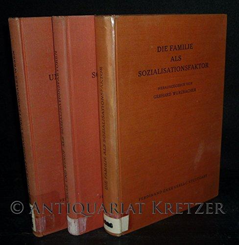 Der Mensch als soziales und personales Wesen. 3 Bände komplett. [Herausgegeben von Gerhard Wurzbach und Theodor Scharmann].