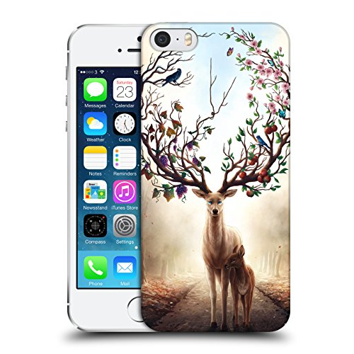 Ufficiale Jonas jojoesart Jödicke Lupo Galassia Animali Selvatici Cover Retro Rigida per Apple iPhone 6 / 6s Stagioni