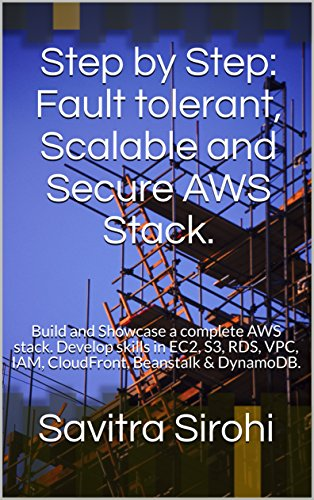 Step by Step: Fault Tolerant, Scalable, and Secure AWS Stack: Build and Showcase a Complete Web App Stack on AWS. Develop skills in EC2, S3, RDS, VPC, IAM, CloudFront, Beanstalk & DynamoDB.