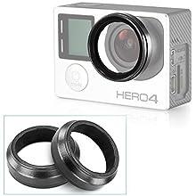 Neewer Camera Protective Lens for HD Gopro Hero 3 Hero 3+, 2 Pack