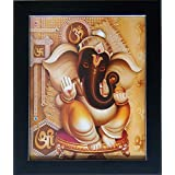 Shree Handicraft Lord Ganesha Ganpati Ganesh Ji Painting Photo Frame Lord Ganesh Frames For Wall Lord Ganesha Painting Frame Lord Ganesh Photos Ganesha Paintings For Wall Ganesha Paintings With Frame For Living Room Ganesha Photo With Frame Ganesh Paintin