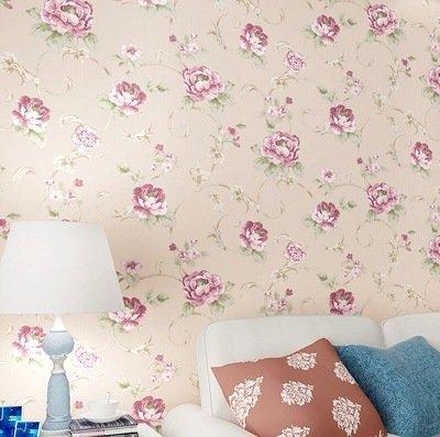 BBSLT Schiuma solida filo tessuto non tessuto-come giardino romantico flower wedding camera da letto soggiorno sfondo , 1 , 53*1000 - Stati Uniti Schiuma Mappa