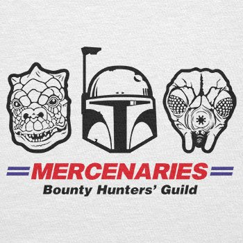 TEXLAB - Mercenaries - Herren T-Shirt Weiß