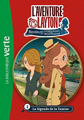 Lady Layton 02 - La légende de la Tamise (Bibliothèque Verte) por LEVEL-5