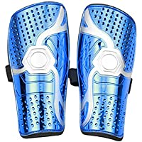 Youth Kids Soccer Shin Pads, Lightweight & Breathable Soccer Shin Guards Board For Children,Teenagers, Adult,Boys,Girls Football Games Leg Calf Protective Gear Soccer Equipment