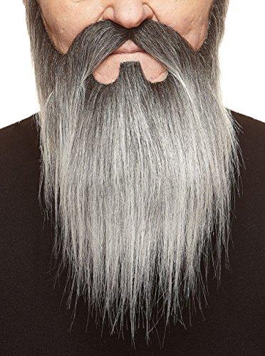 chen, selbstklebend Bart und Schnurrbart eines Lords (Salz-und Pfeffer-halloween-kostüme)