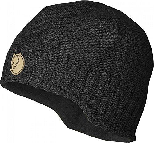 fjallraven-keb-stormblocker-beanie-hat-black-black-sizeone-size