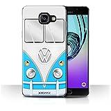 Coque de Stuff4 / Coque pour Samsung Galaxy A5 (2016) / Bleu Design / VW Campervan Collection