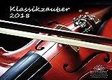 Premium Kalender 2018 · DIN A4 · Klassikzauber · Klassik · Musik · Instrumente · Edition Seelenzauber