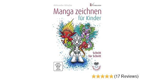 Manga zeichnen für Kinder: Schritt für Schritt: Amazon.de ...