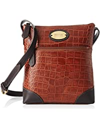 Hidesign Women's Sling Bag (Tan Brown)