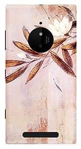 TrilMil Printed Designer Mobile Case Back Cover For MICROSOFT Nokia Lumia 830