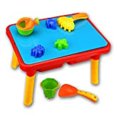 Beach Set Sand Water Table - Beby 2017 New Collection 10 Pieces Summer Garden Play Tools for Children Toddlers Baby