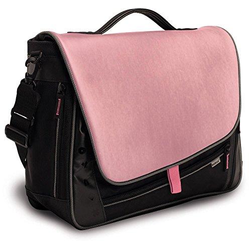 oxmox Touch-It Bag L Rosa Dunkelgrau (kalt), Rosa (warm)