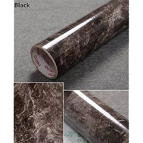 yancorp Granito Effetto Marmo contatore Top Pellicola Vinile Autoadesivo carta da parati peel-stick 61x 198,1cm, (Roll Top Home Office)