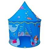 Homfu Spielzelt für Kinder Meerjungfrau Schloss Spielhaus für Mädchen Jungen...