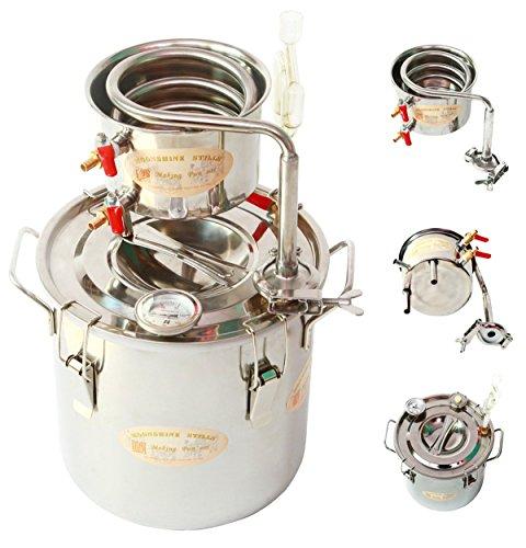 diy-10-l-liter-haus-destillieranlage-schnapsbrennen-rostfreier-stahl-kuhler-schlangenkuhler-destille