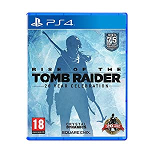 PS4 Rise of the Tomb Raider 20-jähriges Jubiläum Artbook Edition UK Import auf deutsch spielbar