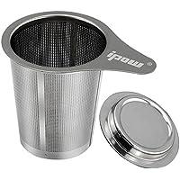 Ipow® migliore infusore o coliono o filtro da tè, con coperchio e maniglia per Tazze, teiera e boccale