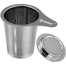 Ipow Filtro Para Té y Café Con Tapa O Bandeja