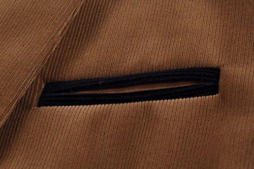 Insun -  Giacca da abito  - Classico  - Uomo Gelb - Ginger
