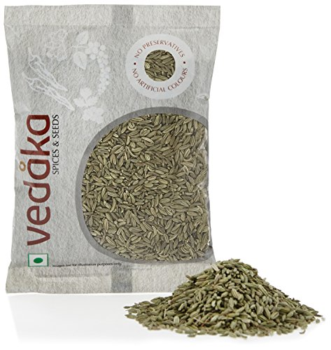 Amazon Brand – Vedaka Fennel Seeds (Saunf), 100g
