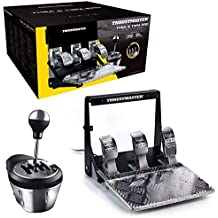 ThrustMaster Pack: TH8A & T3PA Pro Race Gear, caja de cambios manual y secuencial TH8A + juego de 3 pedales T3PA Pro 100% metalicos (Windows)