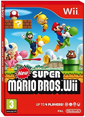 New Super Mario Brothers (Wii) from Nintendo