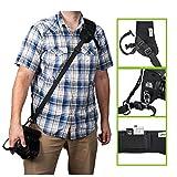 IMORDEN Flash-f-1 Sling Schulter Nacken Kameragurt für DSLR-Kameras