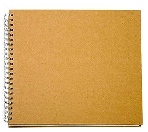 Ringbuch-Album 30,5 x 30,5 cm Pappmaché Fotoalbum Ringbuch Rezeptbuch, von VBS