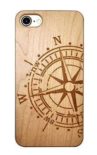 SunSmart iPhone 7 Handy Cover aus Holz für iPhone 7 mit 4,7-Zoll-Display - echtes Sandelholz -18 IP7-4.7''-17