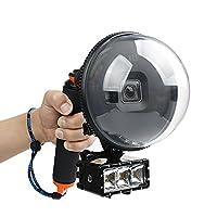 Water lens waterproof cover, snorkeling swim shot for gopro hero 5 series sports camera