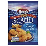 Young's Scampi Shell Fish, 220g (Frozen)