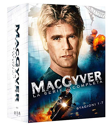 Macgyver: Stagioni 1-7 (Box Set) (38 DVD)