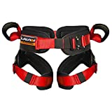 Fusion Climb Rebounder Kids Padded Half Body Bungee Trampoline Harness Red S-M