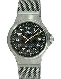 Aristo Reloj de hombre Carbon Reloj Automático Acero inoxidable 7h95
