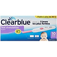 Test d'Ovulation Digital Clearblue - Kit de 10 tests