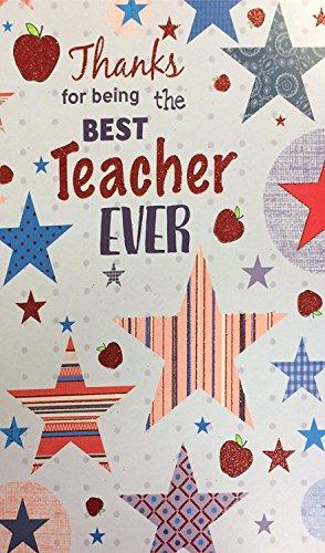Tarjeta para profesor
