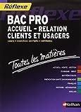 Toutes les matières Bac Pro Accueil - Relation Clients et Usagers