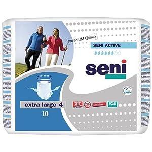 Seni Active Pants Extra Large (8 x 10 Stk.) Bauchumfang 120 – 160 cm bei mittlerer und schwerer Inkontinenz
